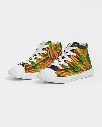 Kids Kente Canvas Shoe