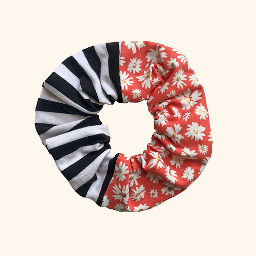 Scrunchie Marine x Capucine