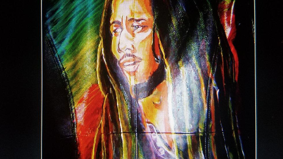Custom Denim - Bob Marley Genius Jacket