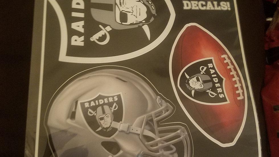 Raiders Decals
