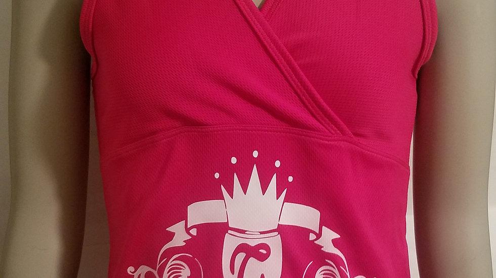 Nubiance Logo TankTop-Hot Pink