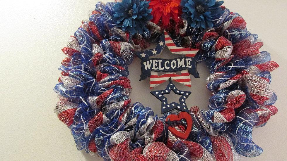 Welcome Home Heroes Wreath