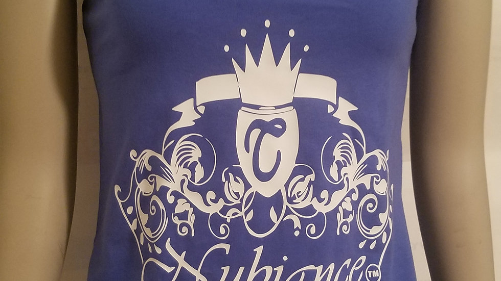 Nubiance Logo silk screen Tank Top-Blue