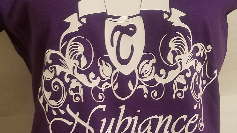 Nubiance Logo T-Shirt-Purple