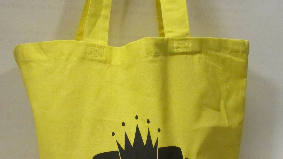 Nubiance Yellow Tote Bag