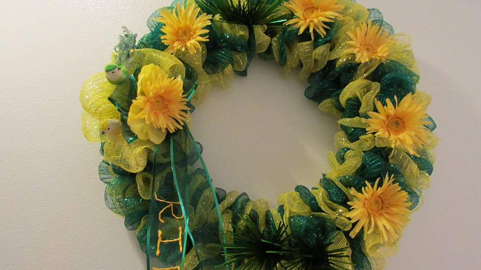 Custom Wreath - Gravesite wreath