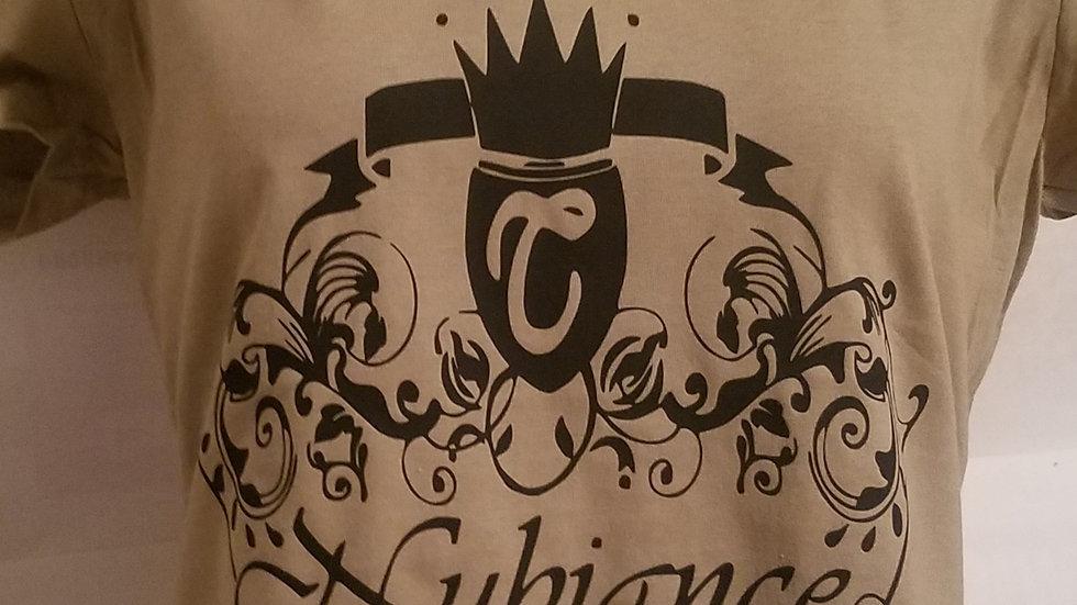 Nubiance Logo T-Shirt-Beige