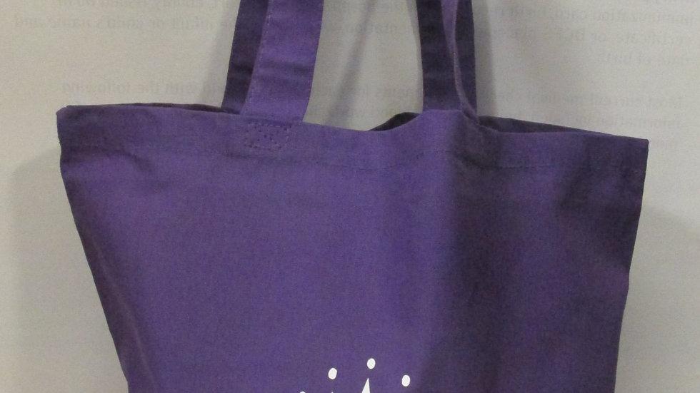 Nubiance Purple Tote Bag