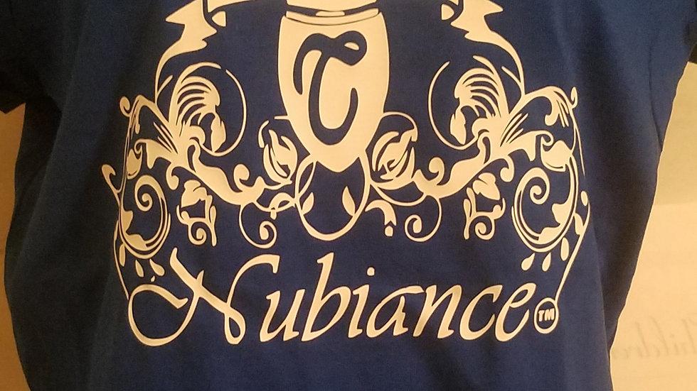 Nubiance Logo T-Shirt-Navy Blue