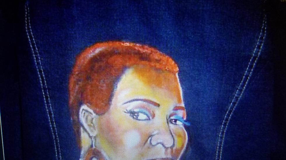 Custom Denim - India Arie Tour Jacket