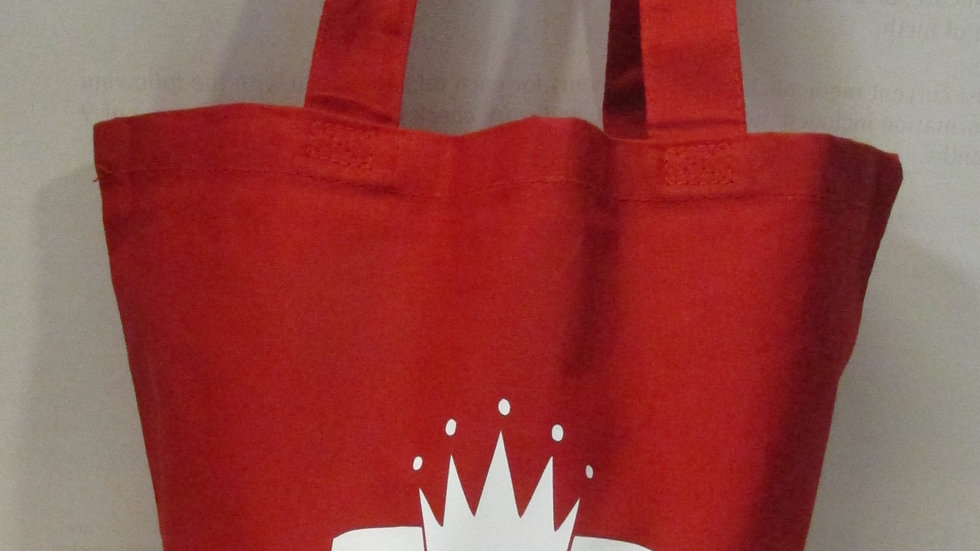 Nubiance Red Tote Bag
