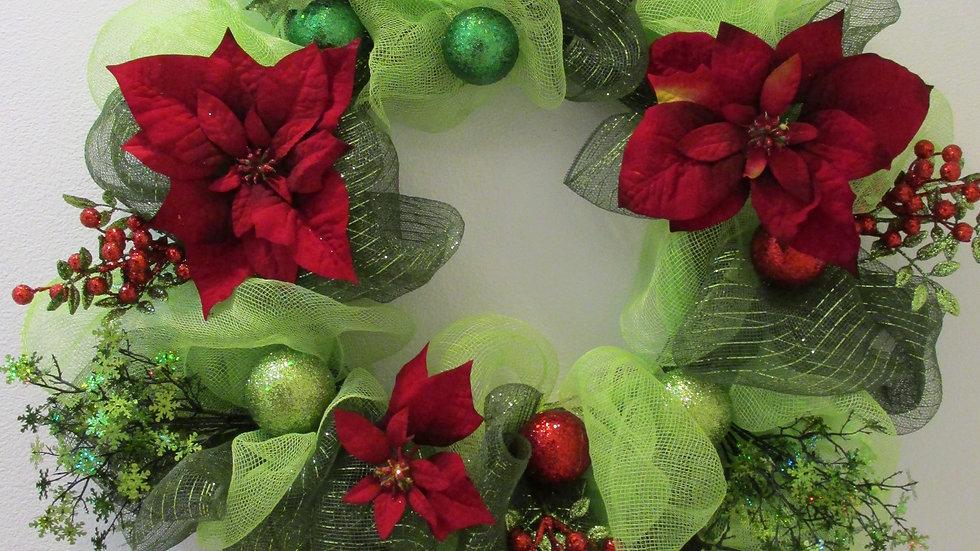 Gala Green Christmas Wreath