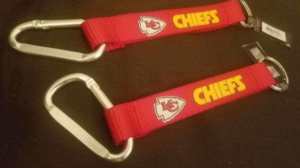 Kansas City Chiefs Key Chains