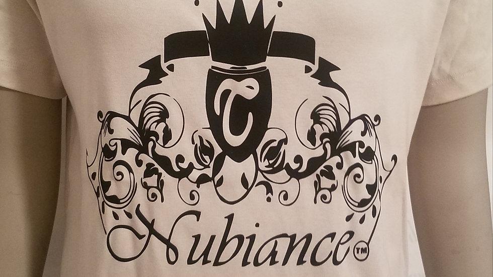 Nubiance Logo T-Shirt-White