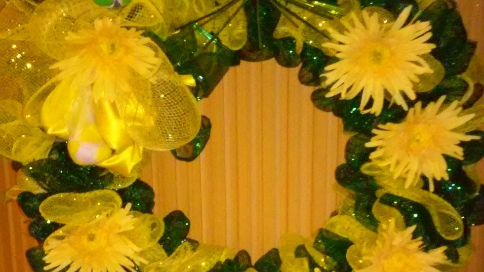 My Sunshine Wreath