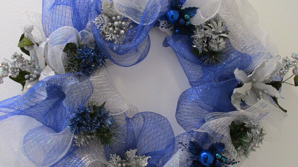 Blue Ivy Winter Wreath