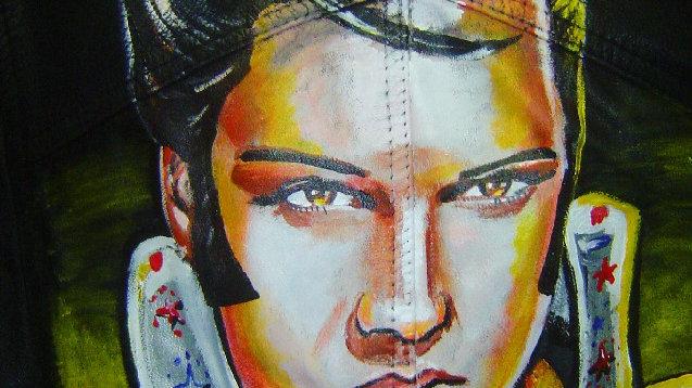 Custom Denim - Elvis Presley Love Jacket