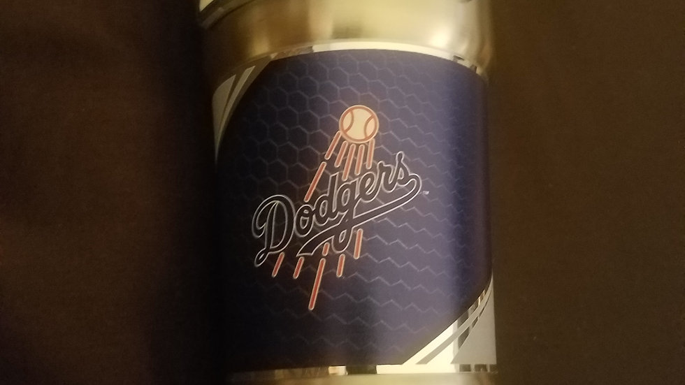 Dodgers Metal Drinking Cup