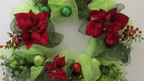 Custom Wreath - Christmas in Cali