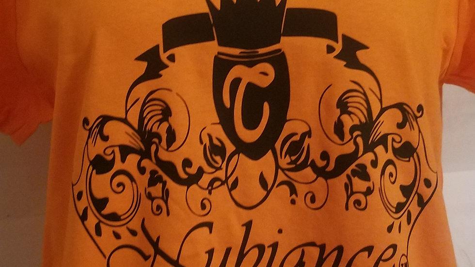 Nubiance Logo T-Shirt-Orange