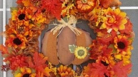 Custom Wreath - Halloween Treats Wreath