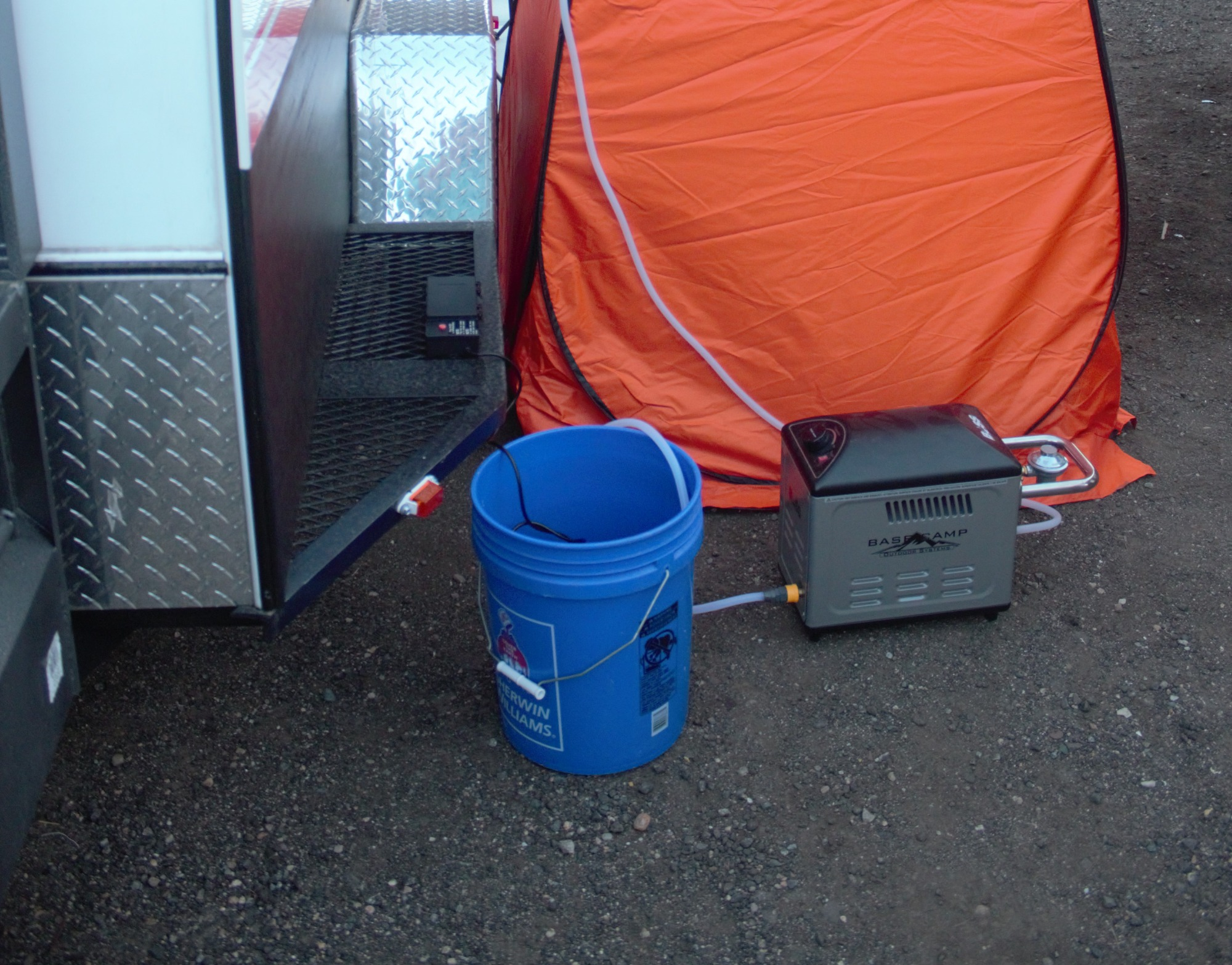 Shower Heater and Pump