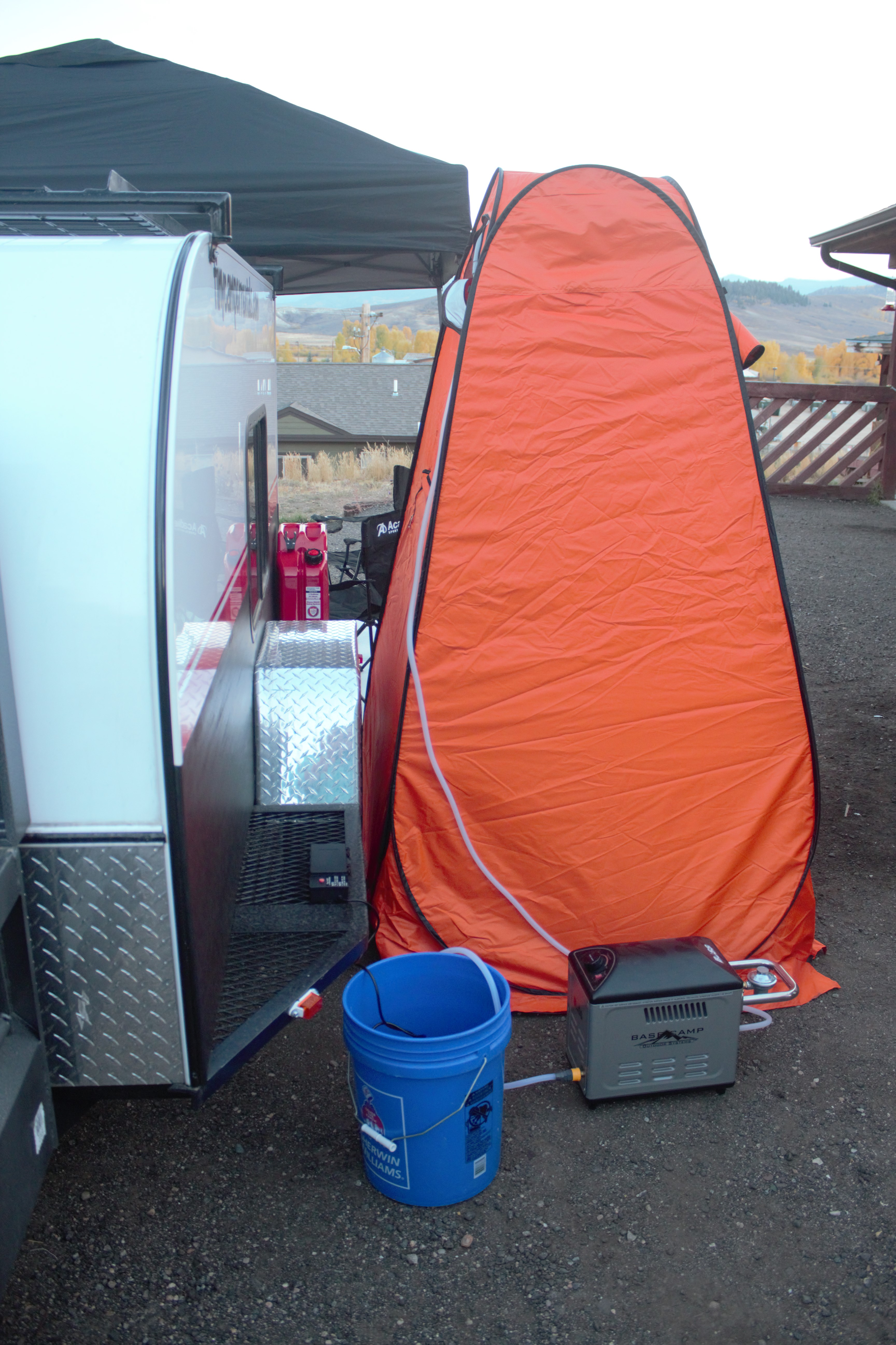 Shower Heater Set-up