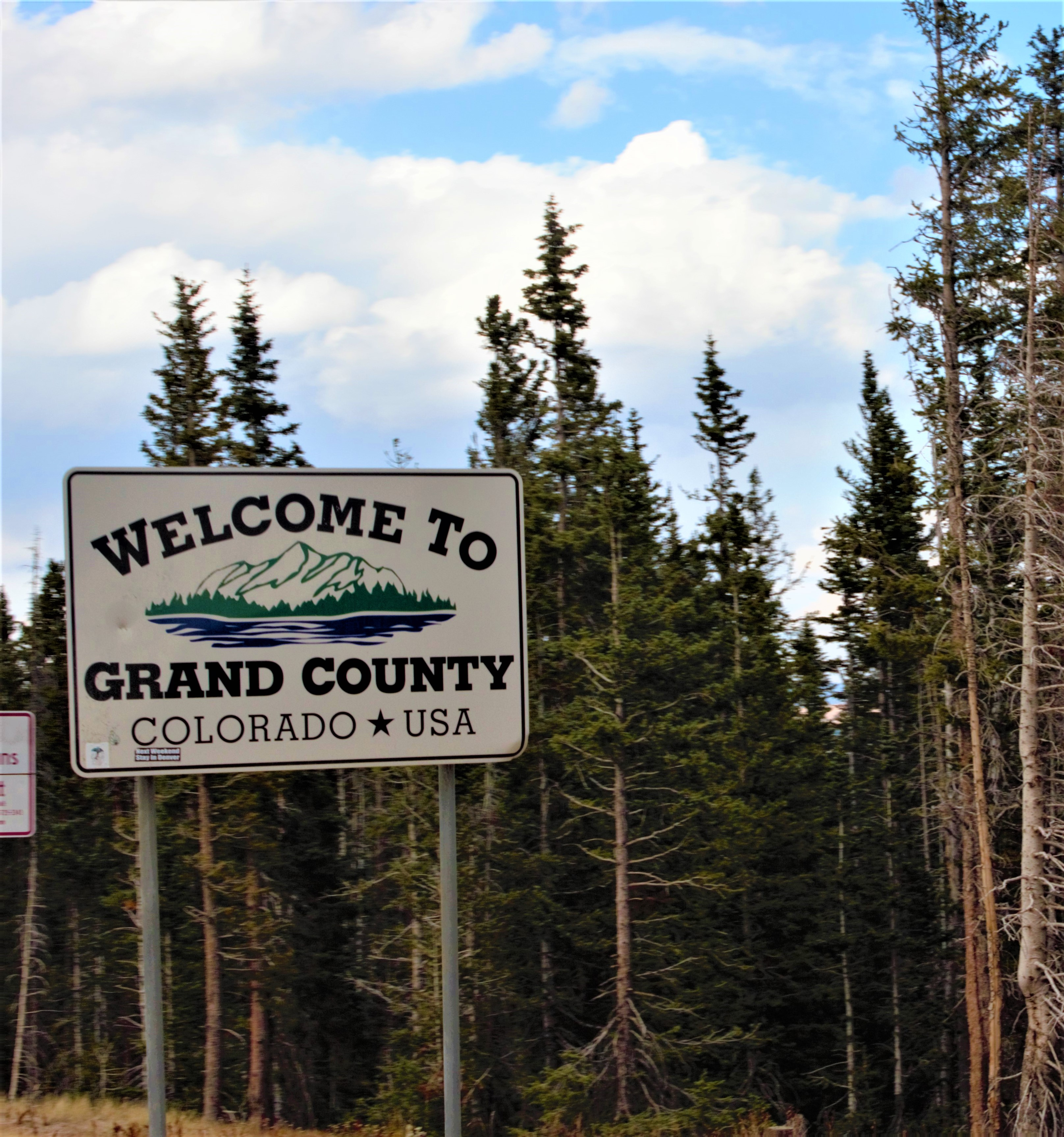 Welcome Sign to GC