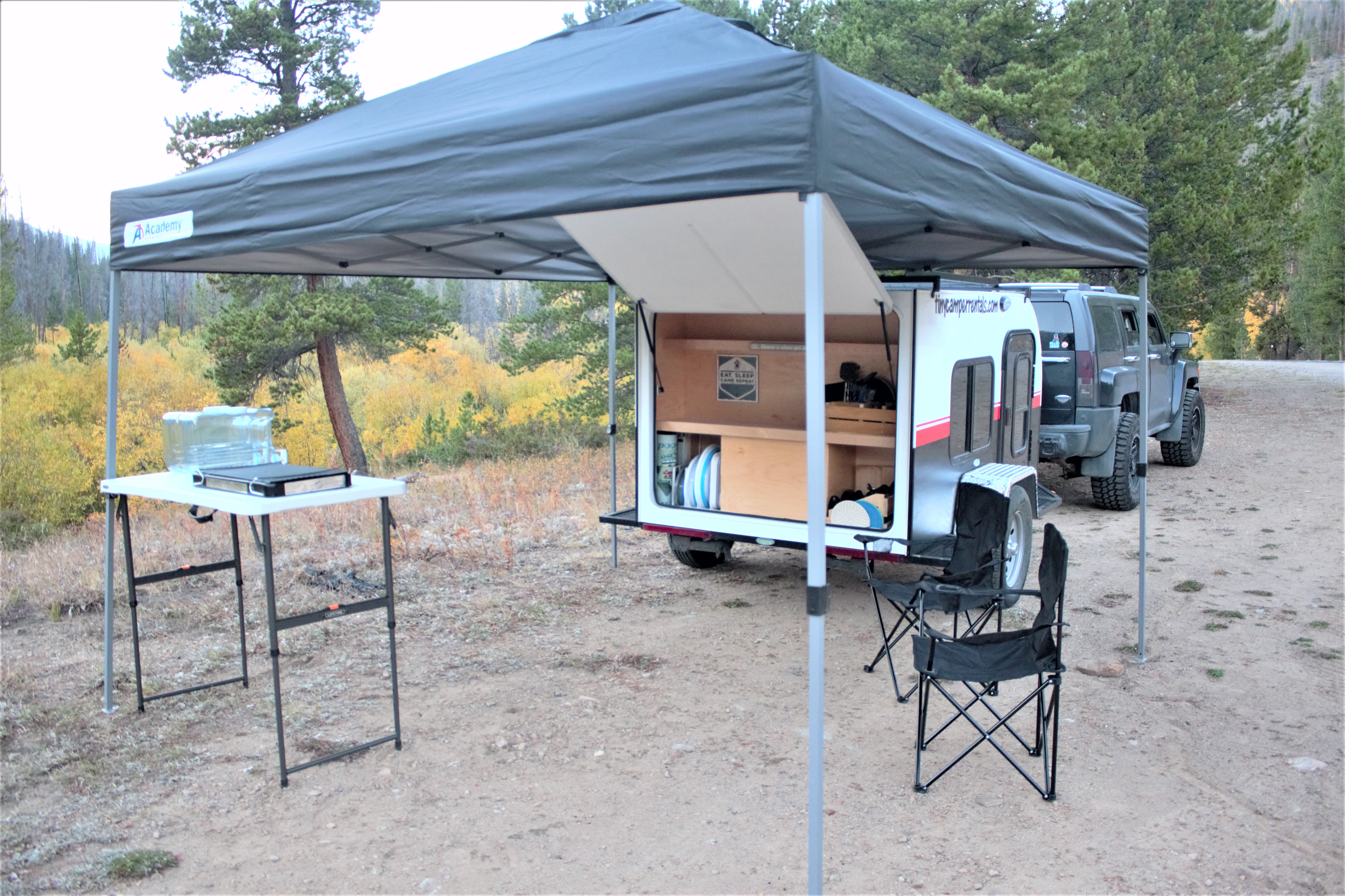 Galley Set-up