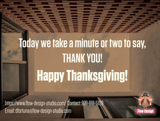 Happy Thanksgiving from FLOW!