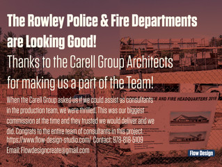 The Rowley Police & Fire Departments are Looking Good!