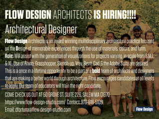 Flow Design Architects is HIRING!