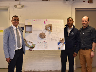 "Flow Design Principals Teach ""Inspired by Architecture"" Class at Boston Collegiate Charter School!"