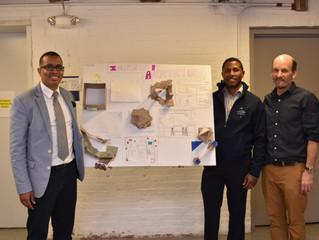 "Flow Design Principals Teach ""Inspired by Architecture"" Class at Boston Collegiate Charter School!"