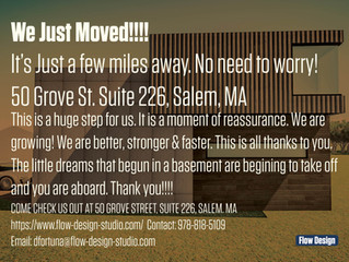 We Just Moved!!!!