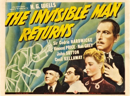 Episode 19 - The Invisible Man Returns (1940)
