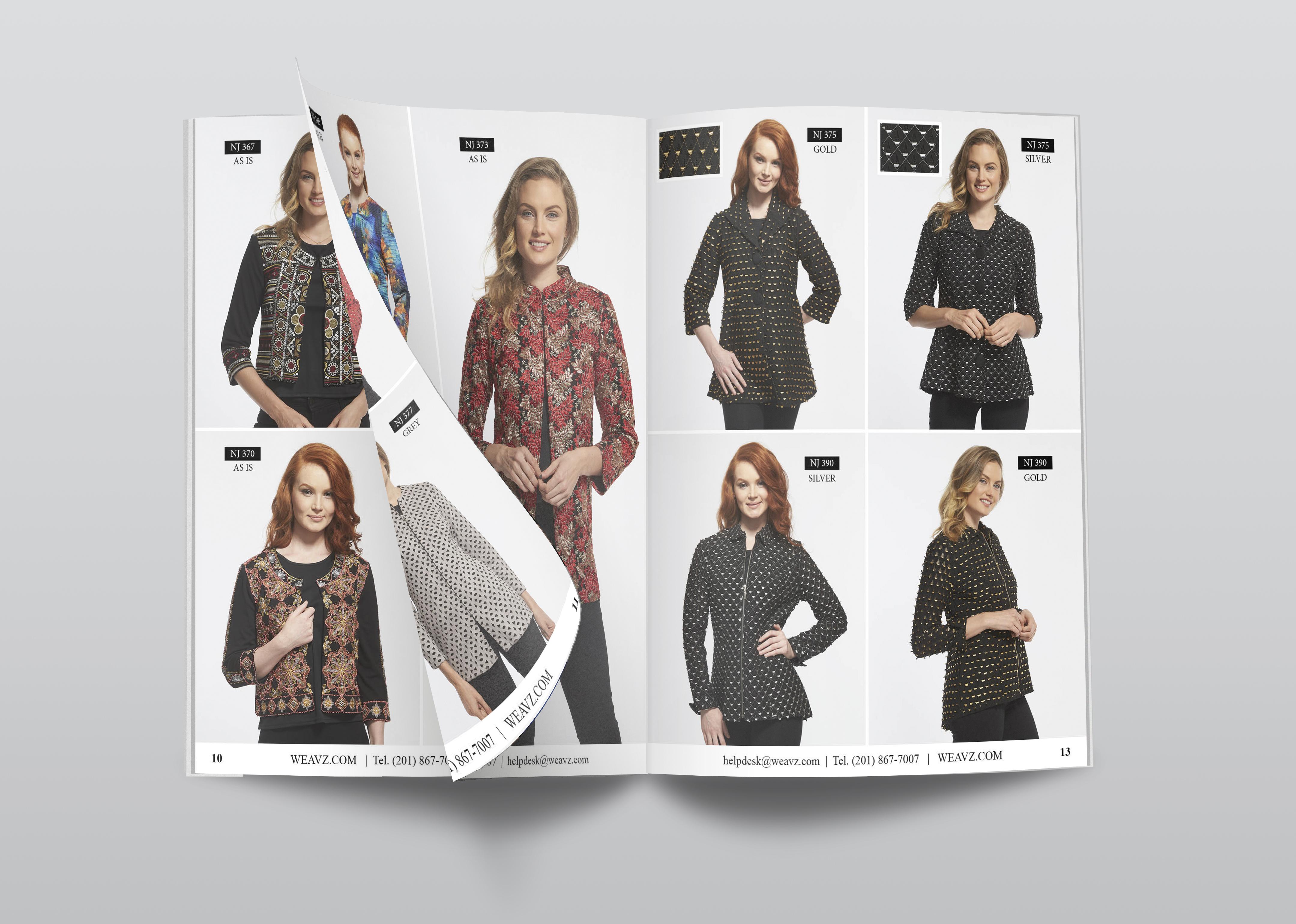 catalog design & layout