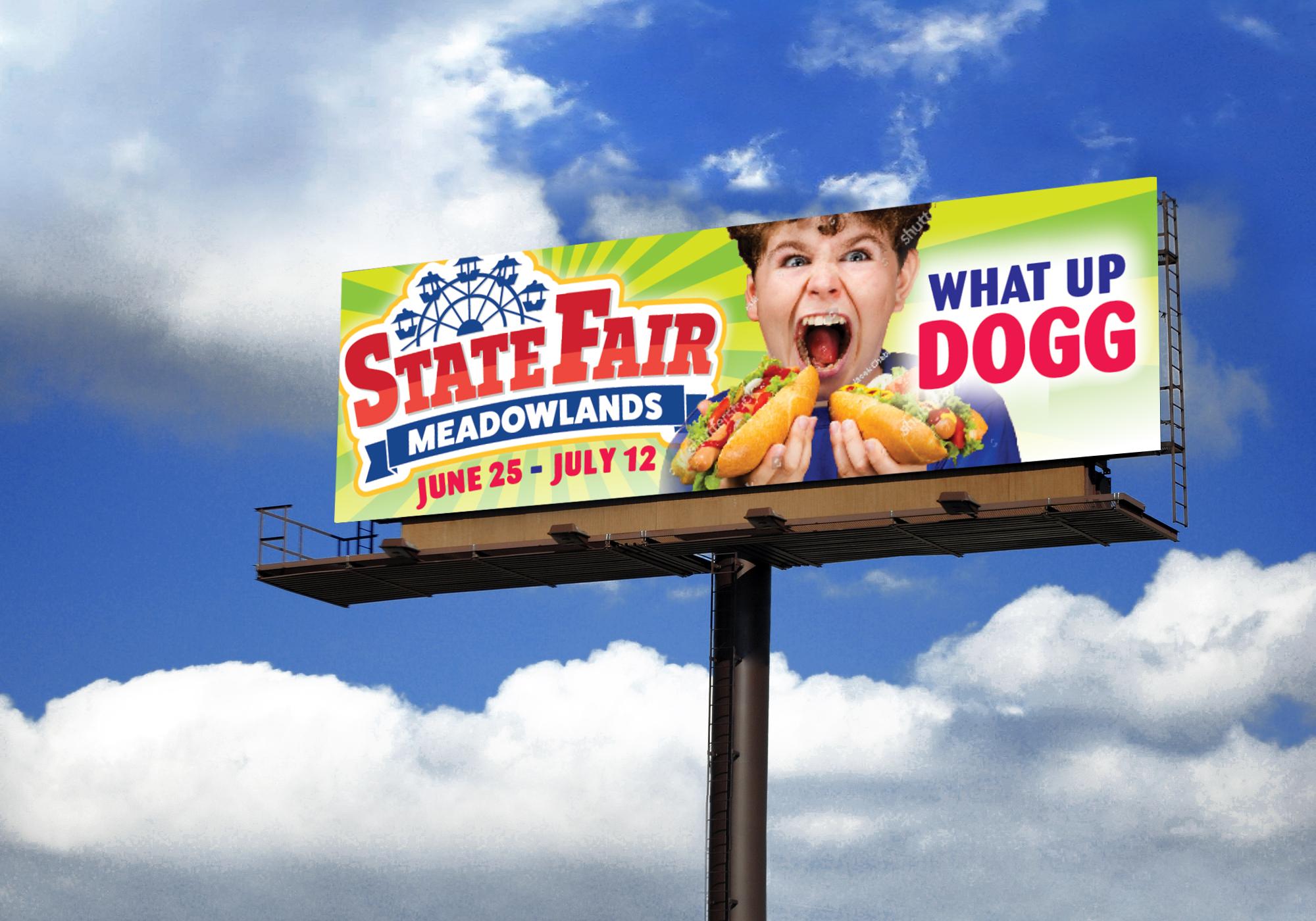 outdoor billboard advertisement