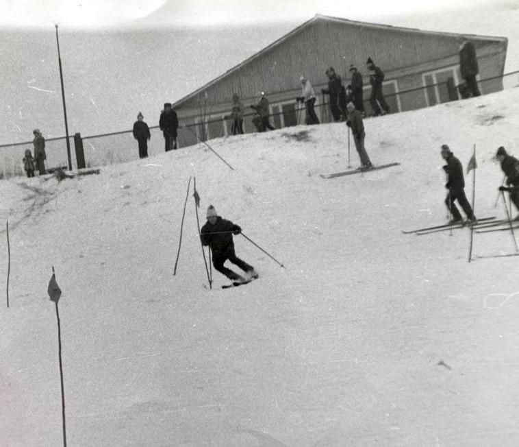 Горнолыжные соревнования в Троицке