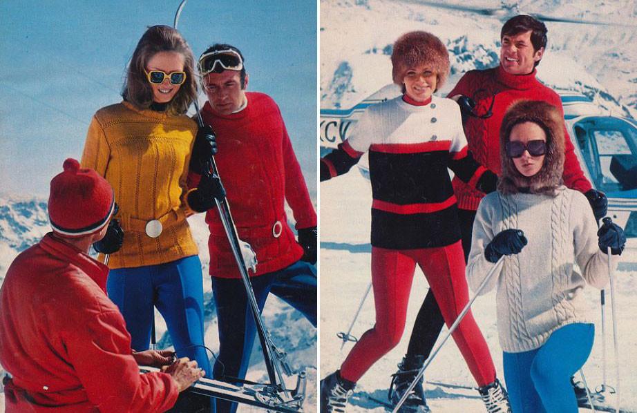 Горнолыжная мода 1970-х