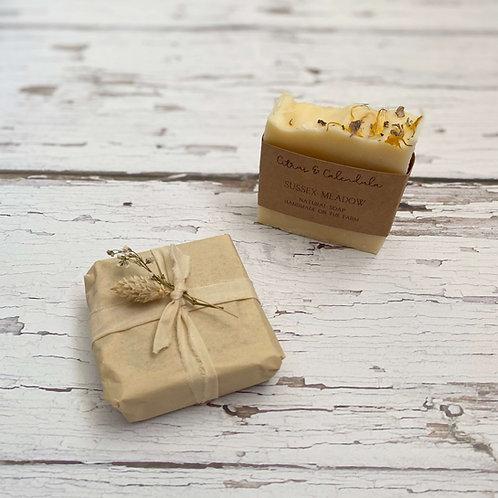 Citrus & Calendula Handmade Soap