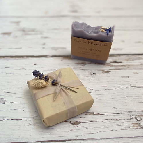 Lavender & Poppy Seed Soap