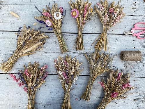 Dried Flower Posy