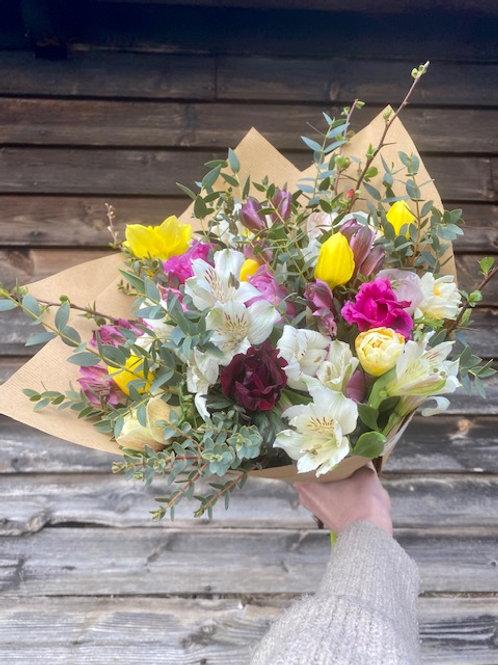Buy flowers in April