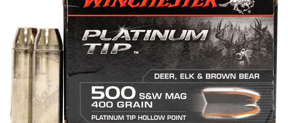 WINCHESTER 500 S&W 400GR PTHP SU (20)