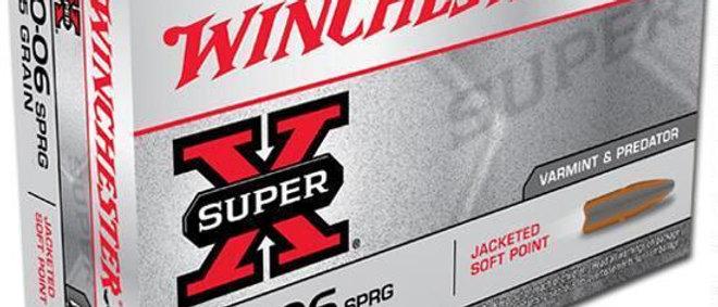 WINCHESTER 30-06 SPR 125GR JSP (20)