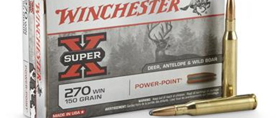 WINCHESTER 270 WIN 150 GR POWER POINT (20)