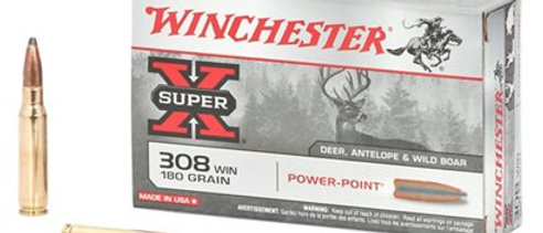 WINCHESTER 308 WIN 180GR POWER POINT (20)