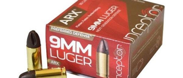RUGER ARX 9mmP 65GR +P (25)