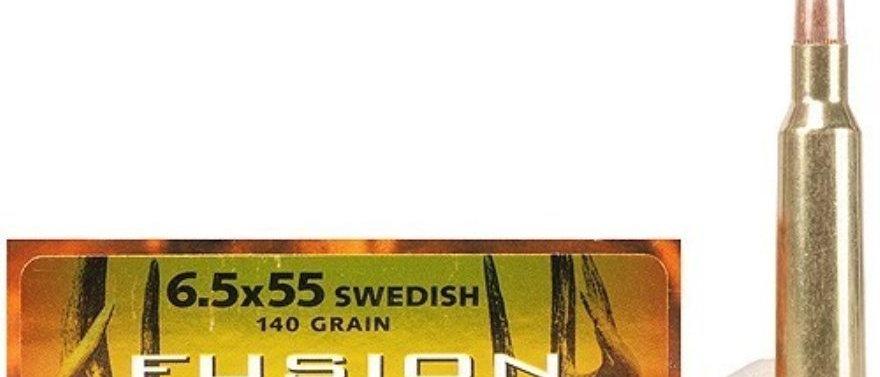 FEDERAL 6.5x55 140GR FUSION (20)
